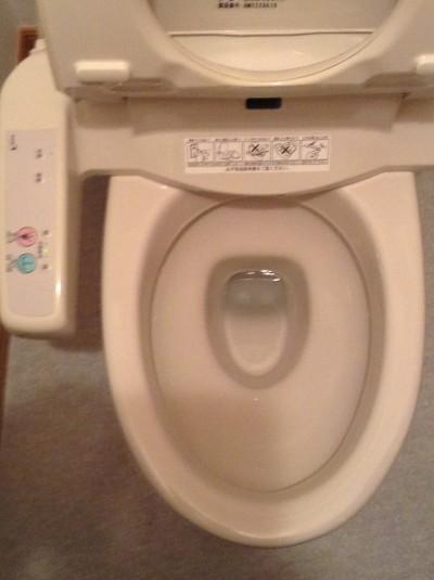 トイレ 輪ジミ 黒ズミ 除去