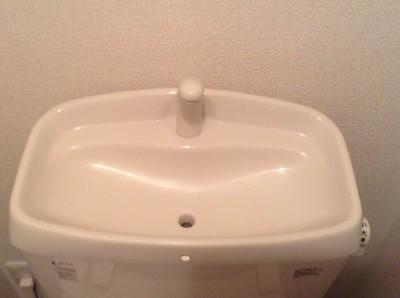 トイレ 水洗タンク 水アカ クリーニング