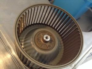 レンジフード シロッコファン 油汚れ クリーニング