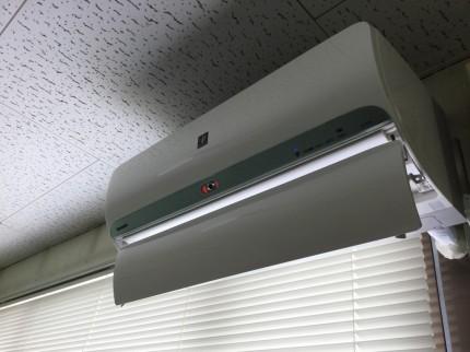 壁掛エアコン分解洗浄
