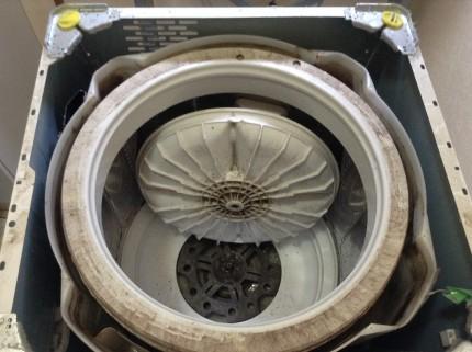 洗濯機分解クリーニング 佐久