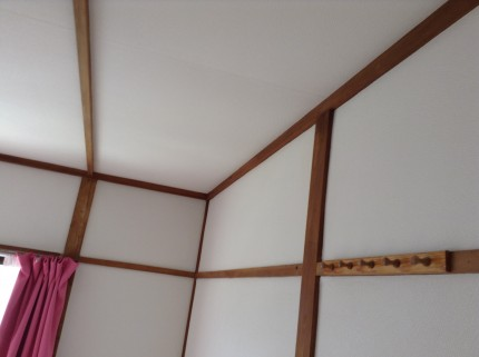 修繕クリーニング 壁紙張り 壁 天井 襖
