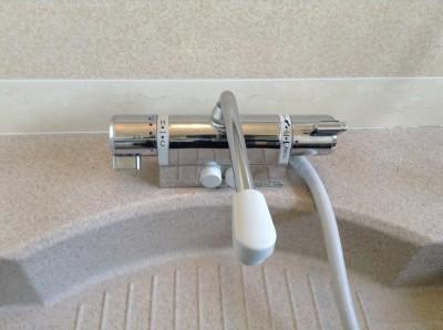 浴室 蛇口 水道 水アカ除去