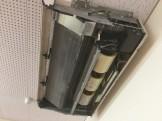 三菱天吊エアコン洗浄