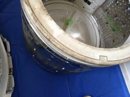 日立 白い約束 NW-D8LX 分解洗浄