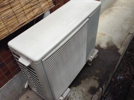 エアコン室外機 クリーニング