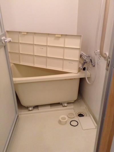 浴室 クリーニング エプロン 排水口