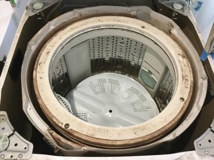 洗濯機の分解洗浄