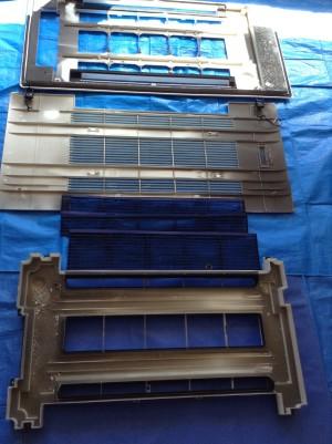 天井埋込エアコン分解洗浄