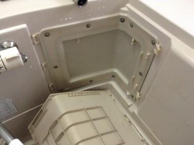 エプロン内部 浴室クリーニング