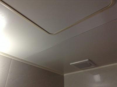 天井カビ汚れ除去 浴室クリーニング