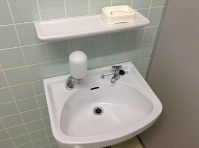 トイレ、手洗器の黒ずみ落とし