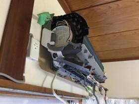 ダイキン おそうじ機能付きエアコンの分解洗浄