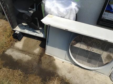 エアコン室外機クリーニング