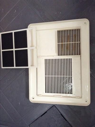浴室暖房乾燥機の分解クリーニング