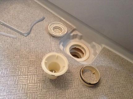浴室排水溝清掃