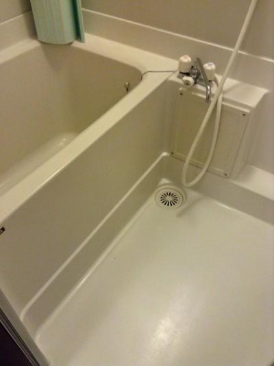 浴室カルキ落とし