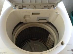 シャープ洗濯機の分解クリーニング