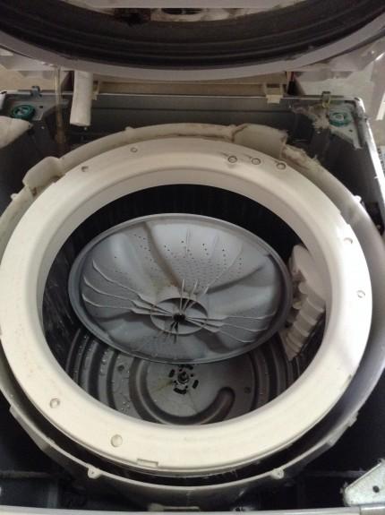 シャープ洗濯機洗浄