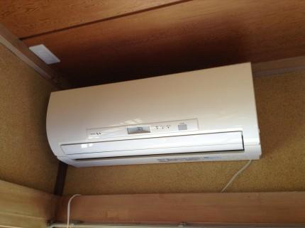 おそうじ機能付きエアコン分解クリーニング