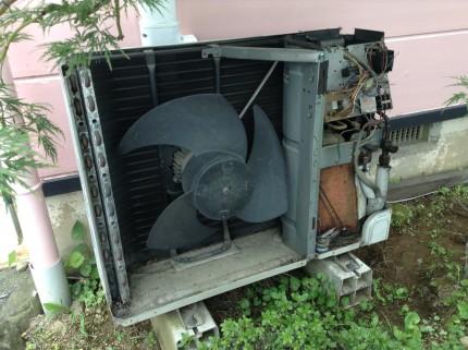 業務用エアコンクリーニング 室外機