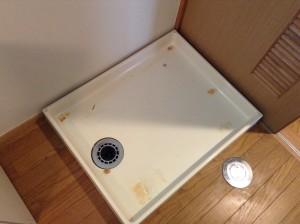 洗濯機置き場 防水パン