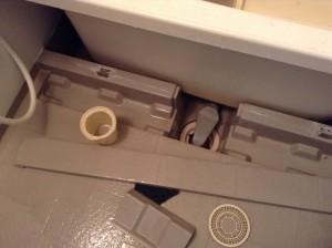 お風呂の排水溝そうじ