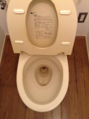 トイレ 黄ばみ 輪ジミ 除去