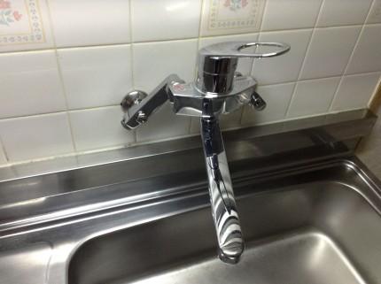 台所 シンク水アカ除去