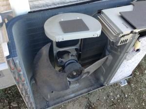 エアコンクリーニング 東芝エアコン 室外機