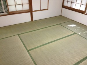 軽井沢の畳クリーニング