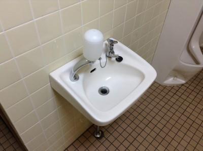 トイレ 手洗いボウル 水アカ取り