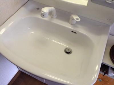 洗面台クリーニング 黒ズミ落とし