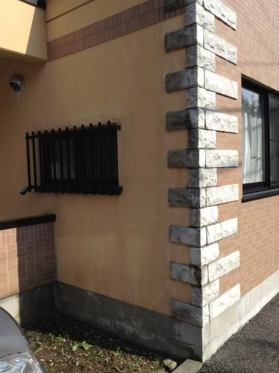 外壁の垂れジミクリーニング