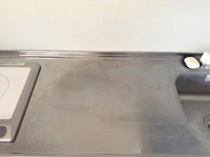 キッチンクリーニング シンク磨き