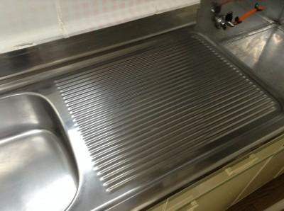 シンク磨き キッチンクリーニング