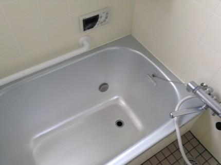 浴室クリーニング 硬いカルシウム掃除