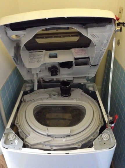 洗濯槽分解クリーニング パナソニック