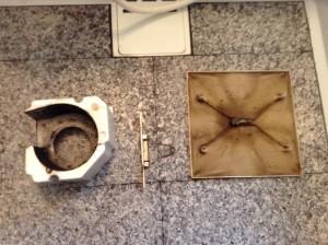 お風呂の換気扇分解洗浄