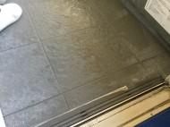 お風呂の床の白い汚れ