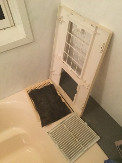 浴室暖房乾燥機分解洗浄