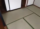 畳のクリーニング
