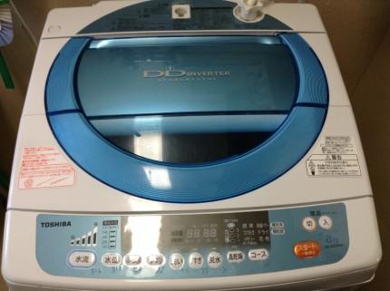 東芝洗濯機 分解洗浄