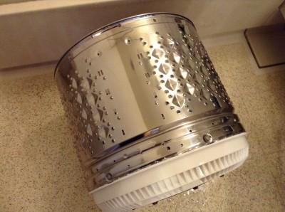 洗濯槽分解クリーニング