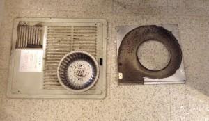 浴室乾燥機分解洗浄