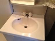 洗面台クリーニング 陶器黒ずみ落とし
