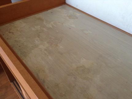ベッド床面の修繕