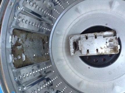洗濯機分解洗浄