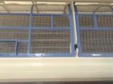 油が付着したエアコンフィルターのお掃除方法