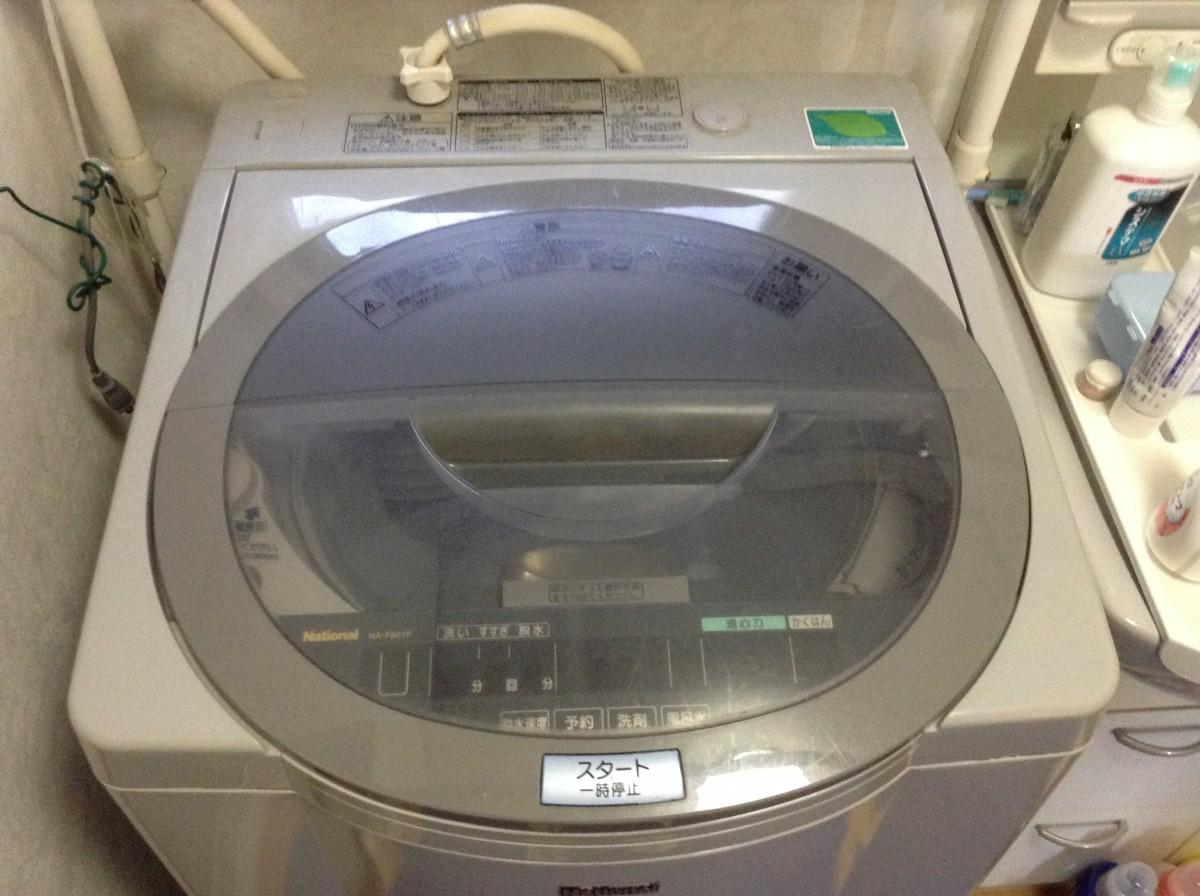 古いナショナル洗濯機の分解洗浄(NA-F801P)|佐久市のハウス ...